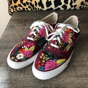 Rifle Paper and Co. Keds